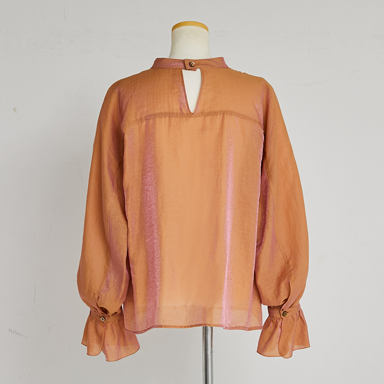 Picot Sewing Pull-over