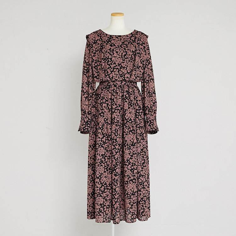 【2020 AW】Flowered up One-piece