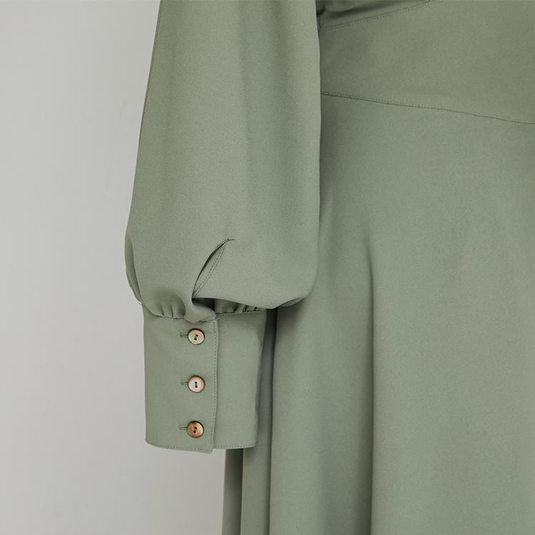 Dolman Sleeve Long Cuffs One-piece