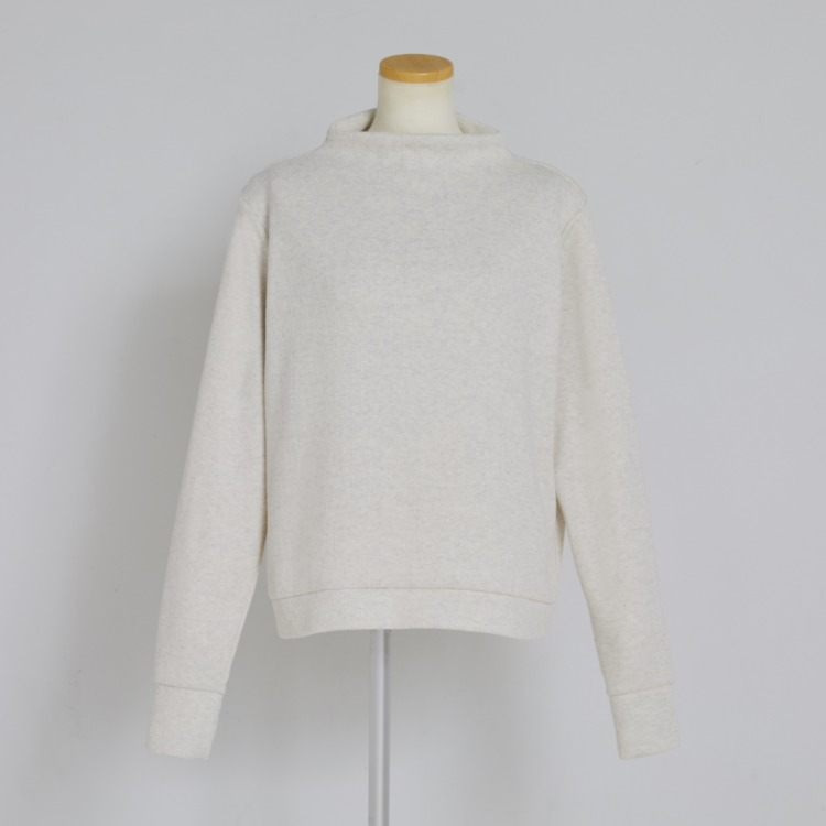 Soft Rib Bottle neck Pull-over