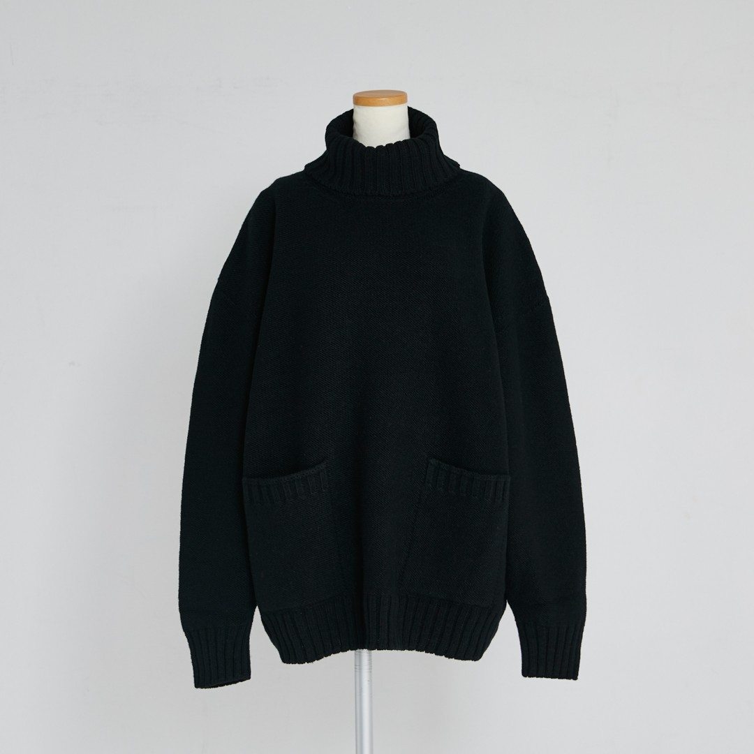 【2020 AW NEW】Wholegarment Pocket Knit