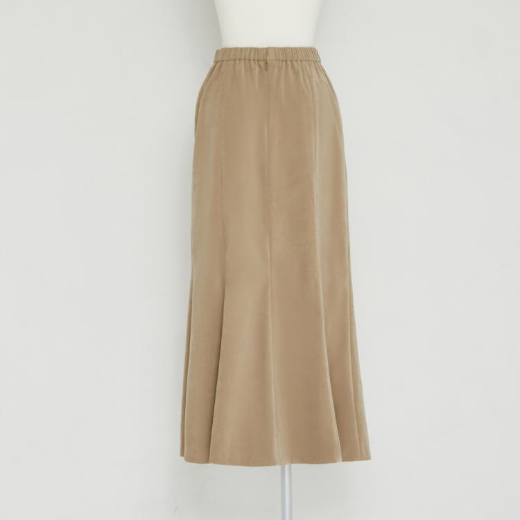 【2021AW NEW】Suede Like Mermaid Skirt