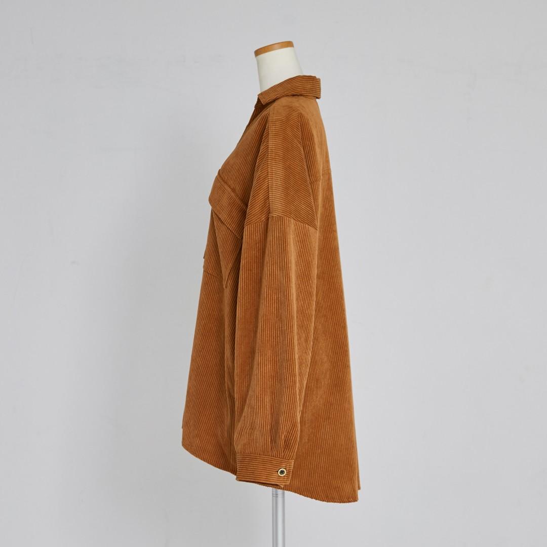 【2020 AW NEW】Corduroy Shirt Jacket