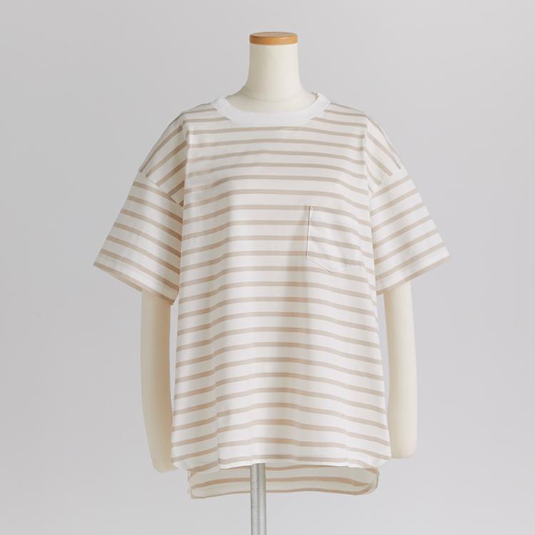 Border Pocket T-Shirt