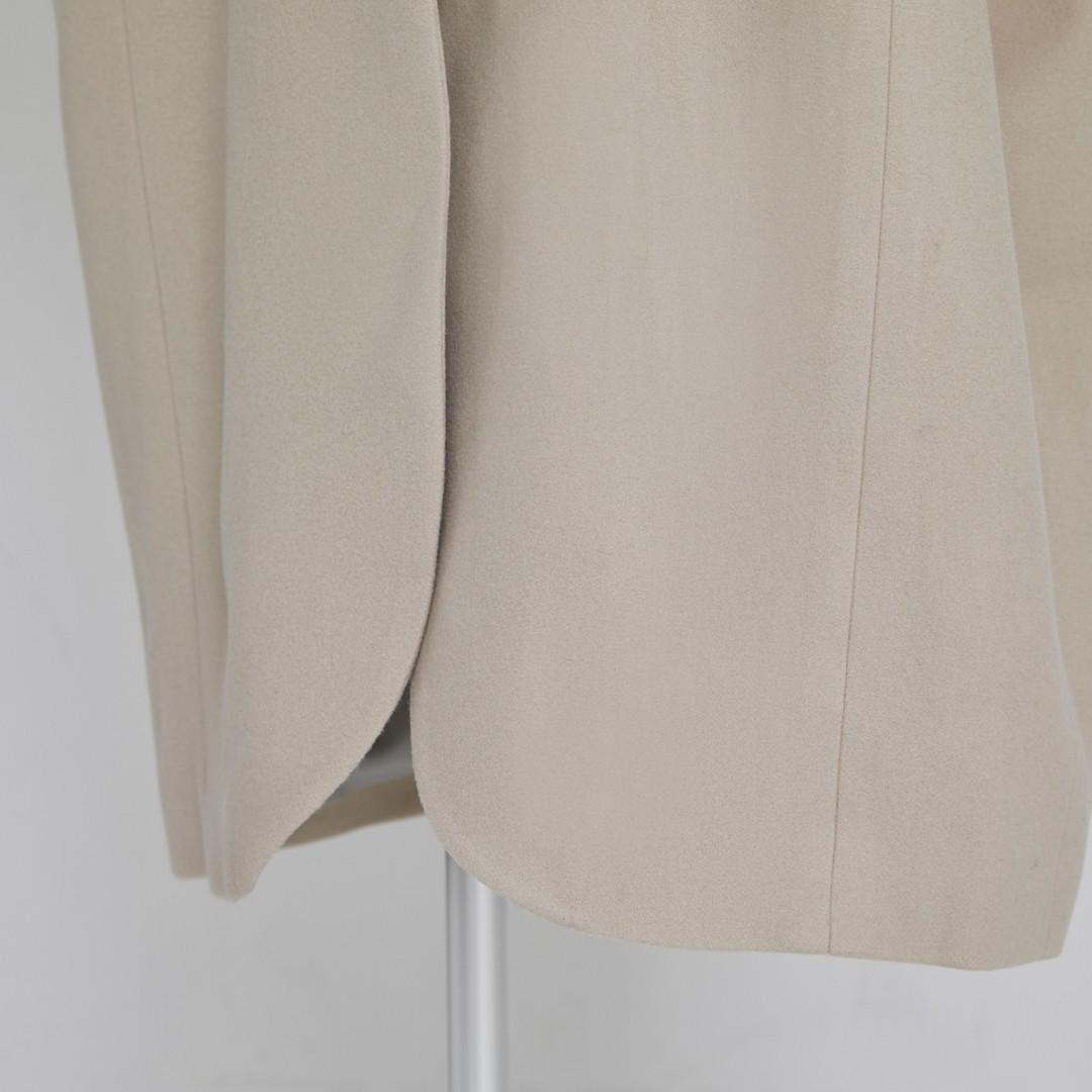 Cocoon Gown Coat