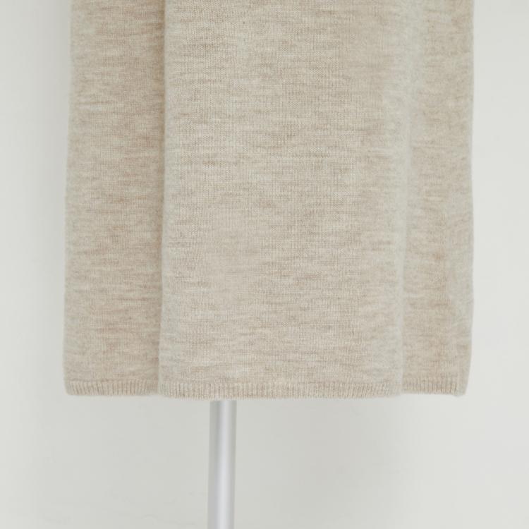 【2021AW NEW】Volume Sleeve Knit One-piece