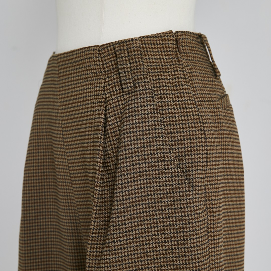 【2020 AW NEW】Houndstooth Pants