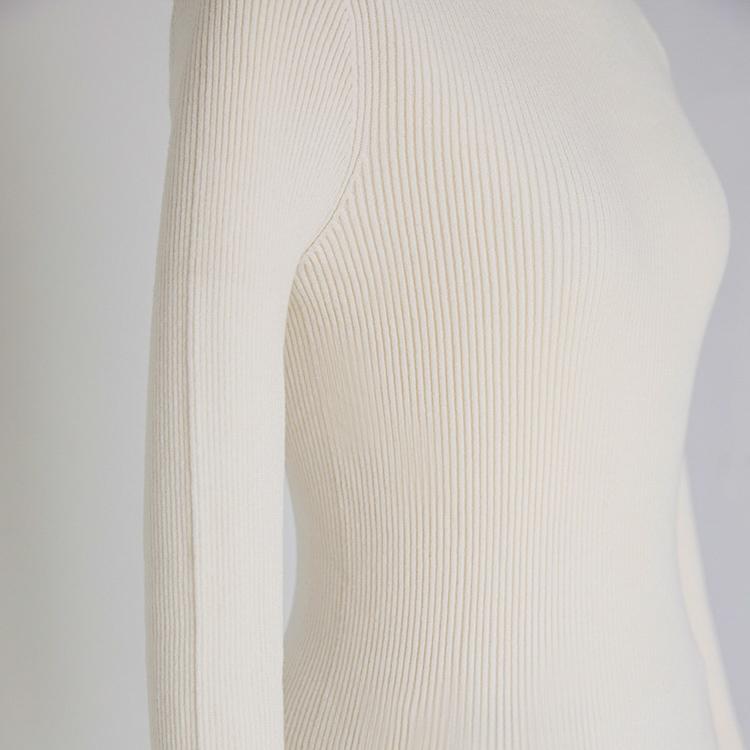 Whole Garment Turtle Knit