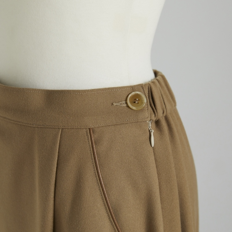 Piping Flare Skirt