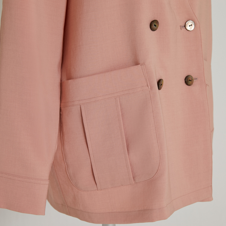 Linen Like Jacket