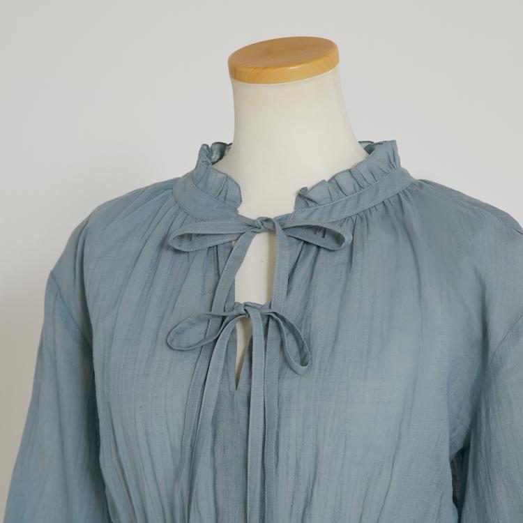 2Way Ribbon Tunic Shirt