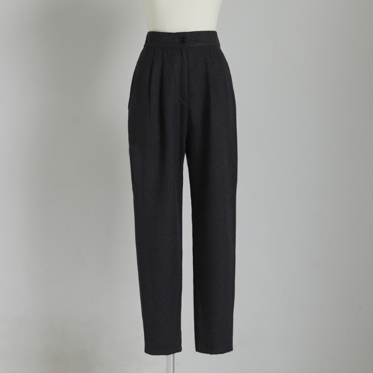 Herringbone Tuck Pants