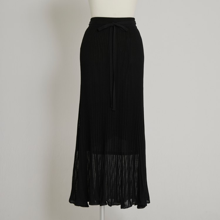 【2021SS NEW】Rib Flare Skirt