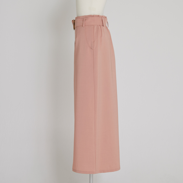 【2021SS NEW】Linen Like Skirt