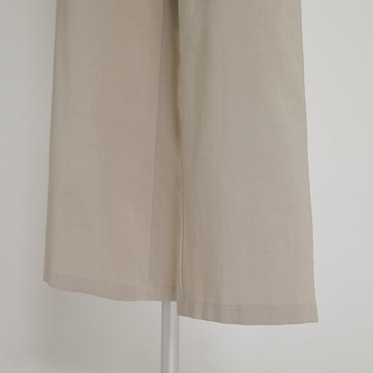 【2021SS NEW】Linen Like Pants