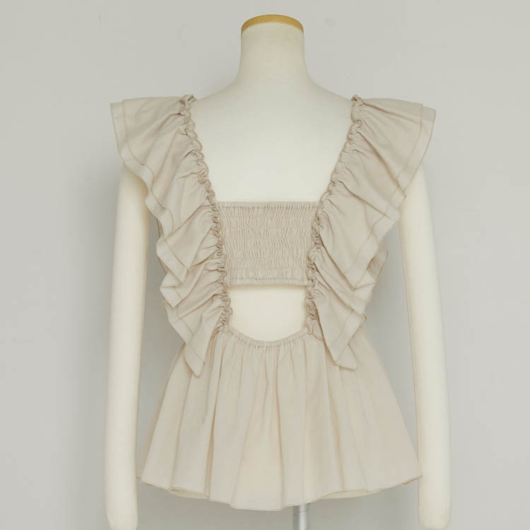 【2021SS NEW】Frill Pull-over