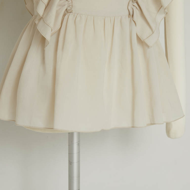 Frill Pull-over