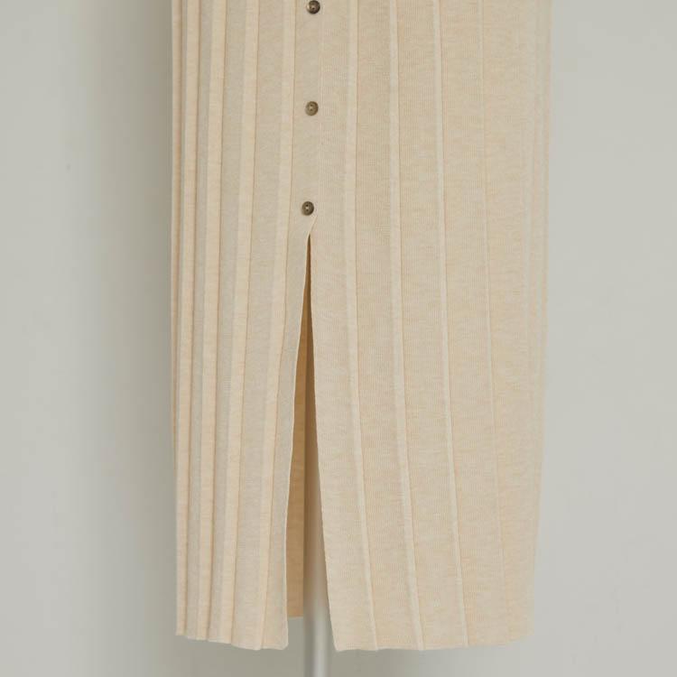 【2021SS NEW】Knit Pleat One-piece
