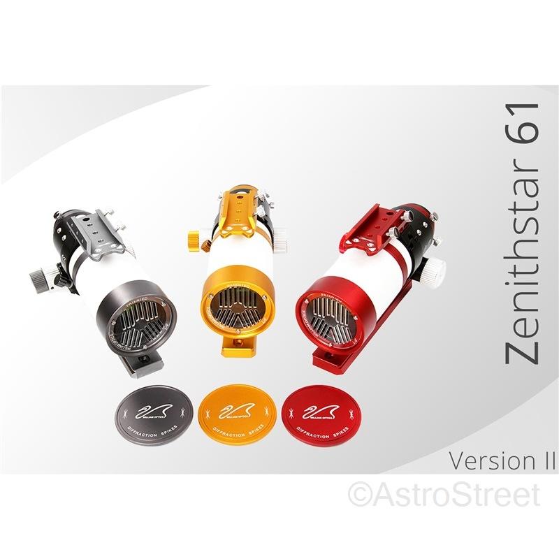WilliamOptics Z61 MarkII  ZenithStar APO屈折鏡筒 FPL53