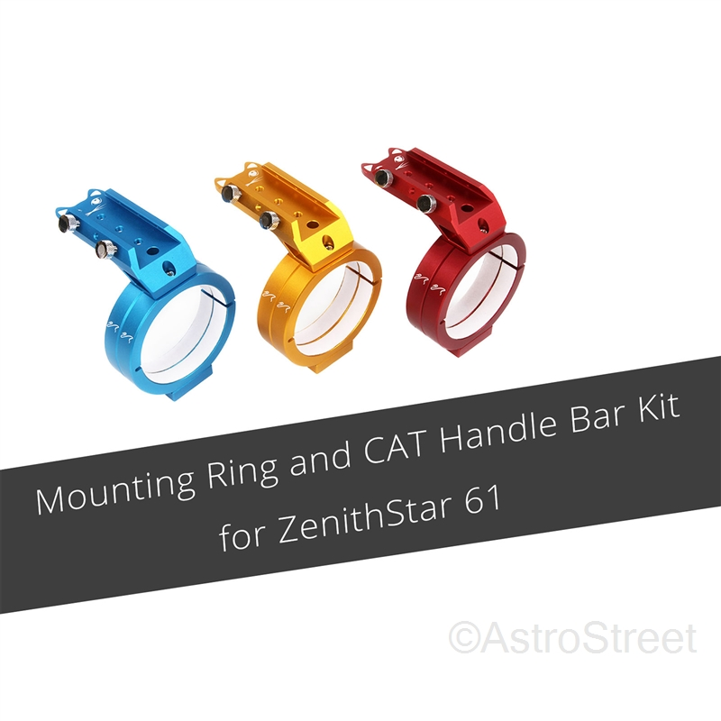 WilliamOptics Z61用 CAT鏡筒リング_ハンドルバーセット