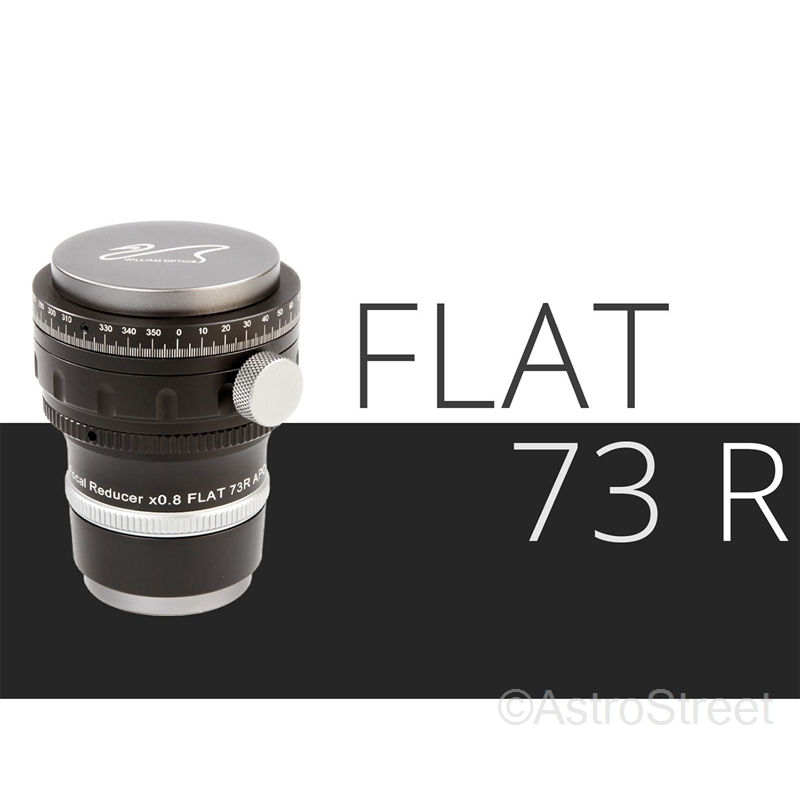[入荷予約]WillamOptics Flat73R アジャスタブル 0.8倍 レデューサー/フラットナー Z73鏡筒用