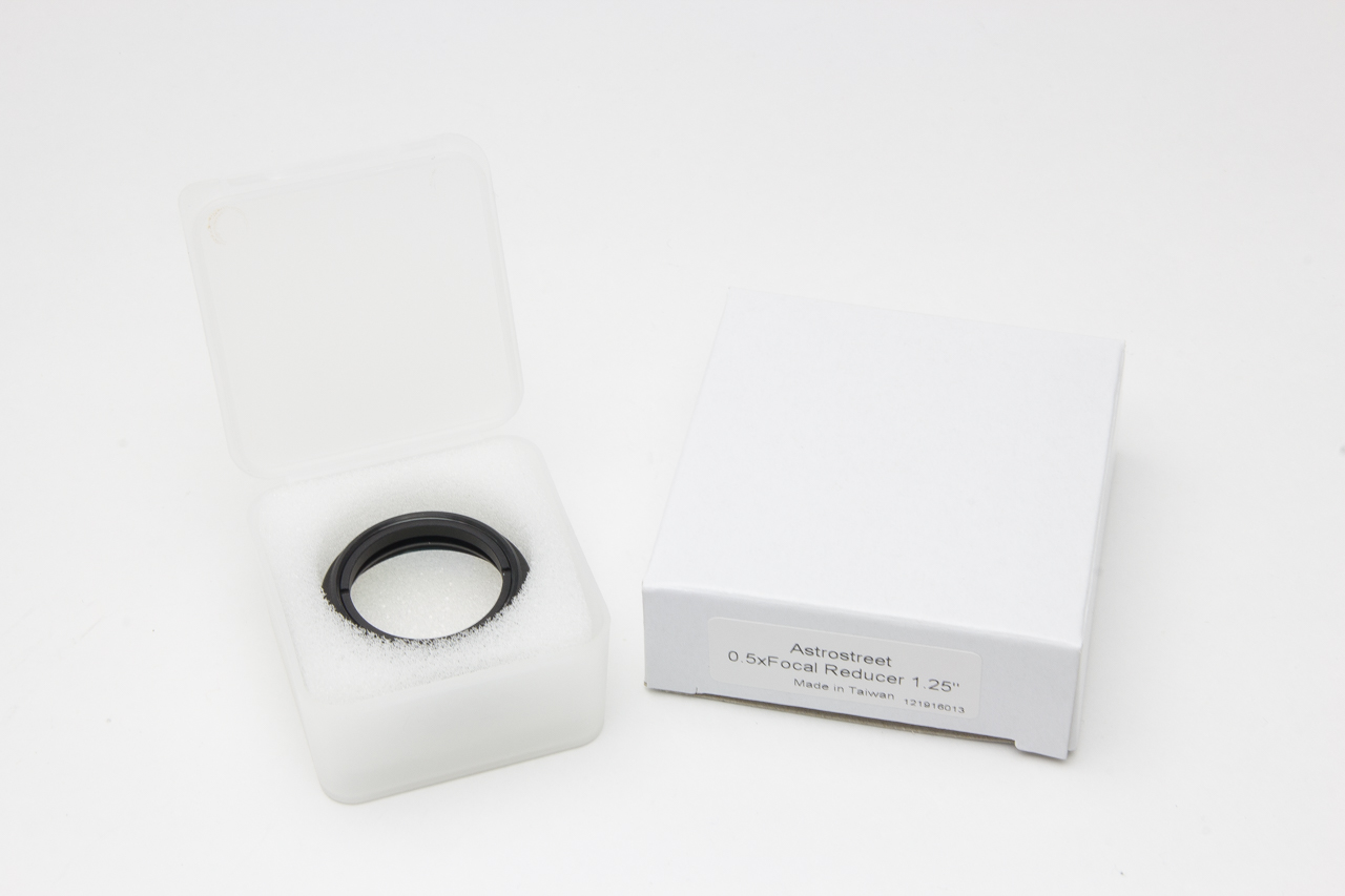 AstroStreet GSO 0.5x フォーカルレデューサー 1.25インチ(31.7mm)径 台湾製 [国内正規品]