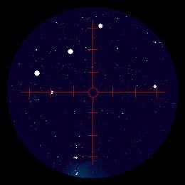 ExploreScientific 8x50 正立ファインダー 暗視野照明(レチクル)付