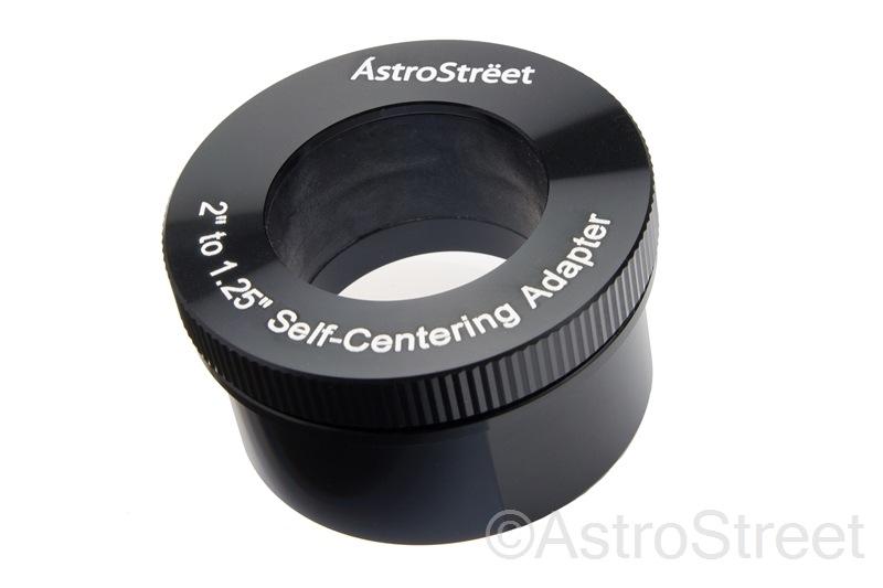 AstroStreet セルフセンタリング 2インチ31.7mm変換アダプター