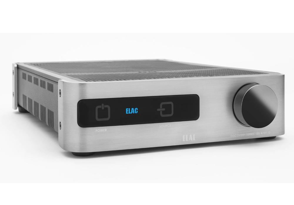 ELAC - DS-A101-G(ネットワーク対応・インテグレーテッドアンプ)《JP》【メーカー直送品(代引不可)】