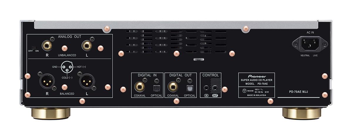 Pioneer - PD-70AE/シルバー(スーパーオーディオCDプレーヤー)《JP》【次回納期未定・ご予約受付一時見合わせ中】