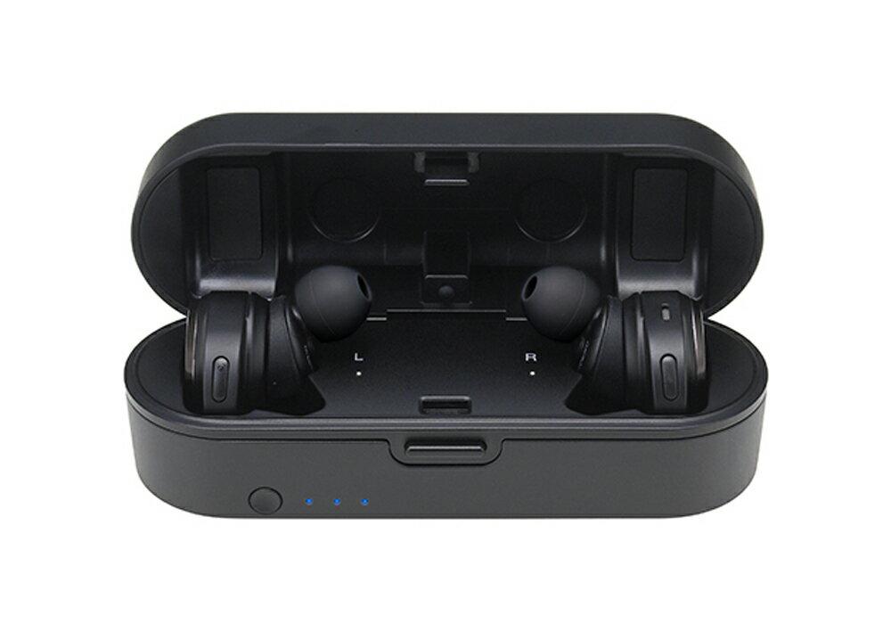 audio-technica - ATH-CKR7TW-BK(ブラック)(完全ワイヤレスイヤホン)《JP》【メーカー直送商品・3〜5営業日前後でお届け可能です※メーカー休業日除く】