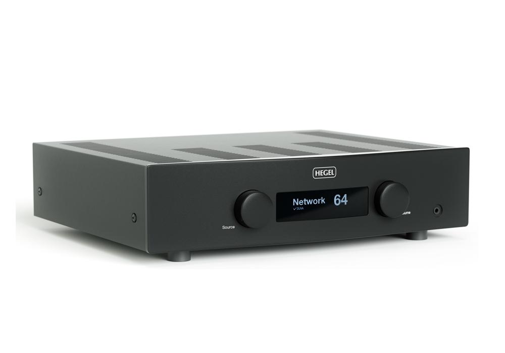 HEGEL - H190/ブラック(ネットワーク・USB/DAC内蔵インテグレーテッドアンプ)《JP》【8/17〜出荷・メーカー取寄商品・納期を確認後、ご連絡いたします】