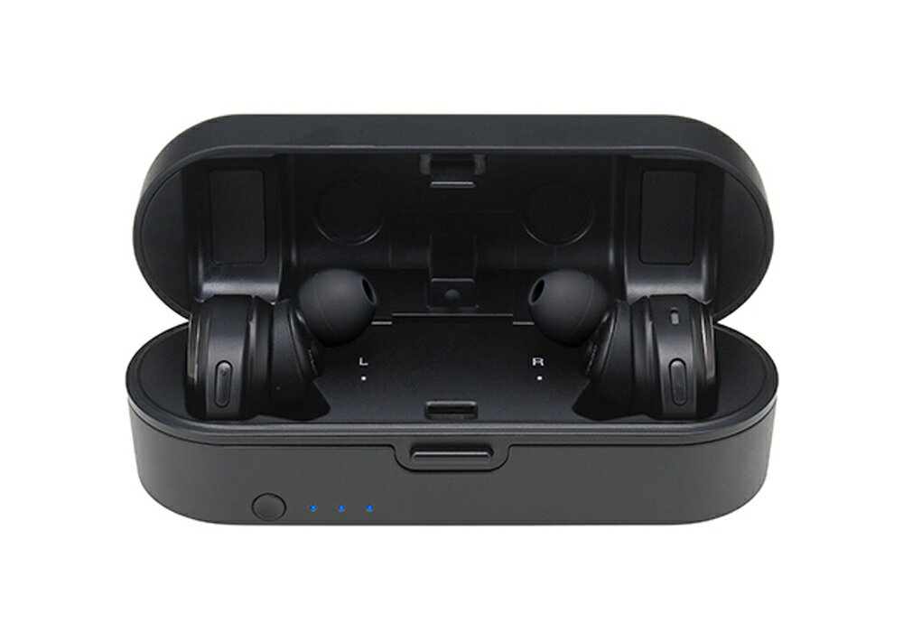 audio-technica - ATH-SPORT7TW-BK(ブラック)(防水機能付き・完全ワイヤレスイヤホン)《JP》【メーカー直送品(代引不可)・3〜5営業日前後でお届け可能です※メーカー休業日除く】