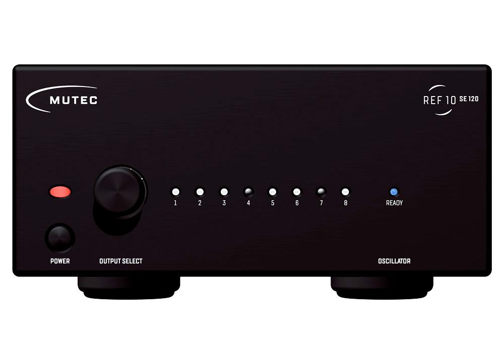 MUTEC - REF10 SE120/Black(10Mhzリファレンス・マスタークロックジェネレーター)《JP》【在庫有り即納】