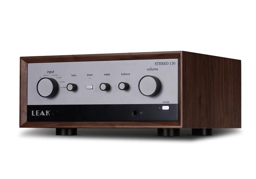 LEAK Audio - Stereo 130(ウォールナット)(USB/DAC内蔵・プリメインアンプ)《JP》【2021年2月下旬発売予定・ご予約受付中】