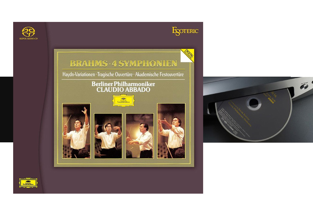ESOTERIC - ESSG-90192/94(SACDソフト3枚組 ブラームス:交響曲全集 他)《JP》【完売】