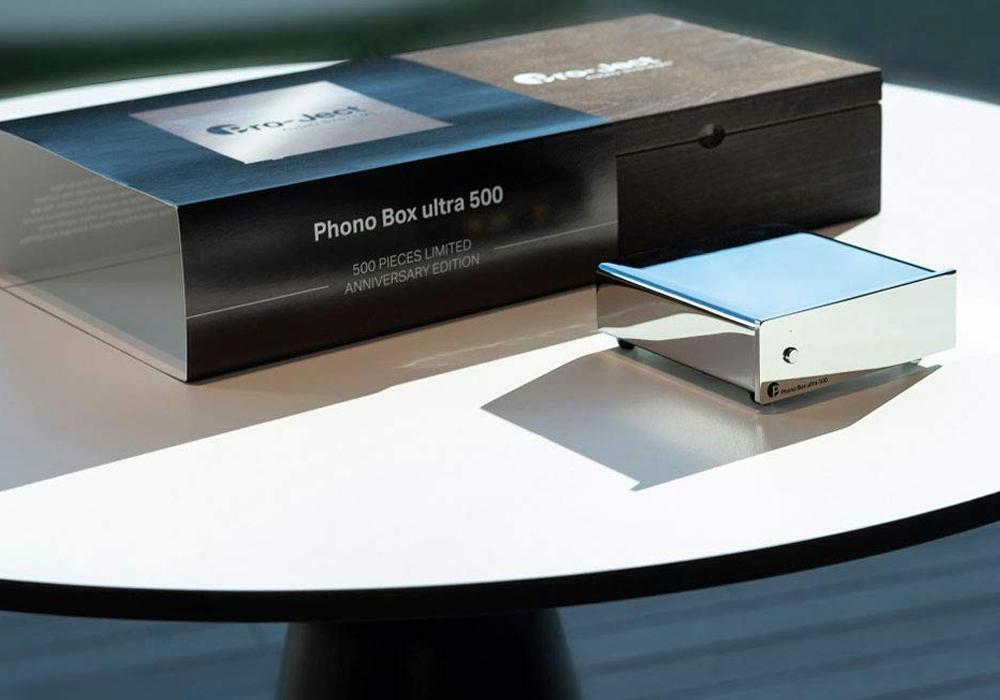 Pro-Ject - PHONOBOX/ULTRA500(ディスクリートMM/MC フォノアンプ)《JP》【在庫有り即納】