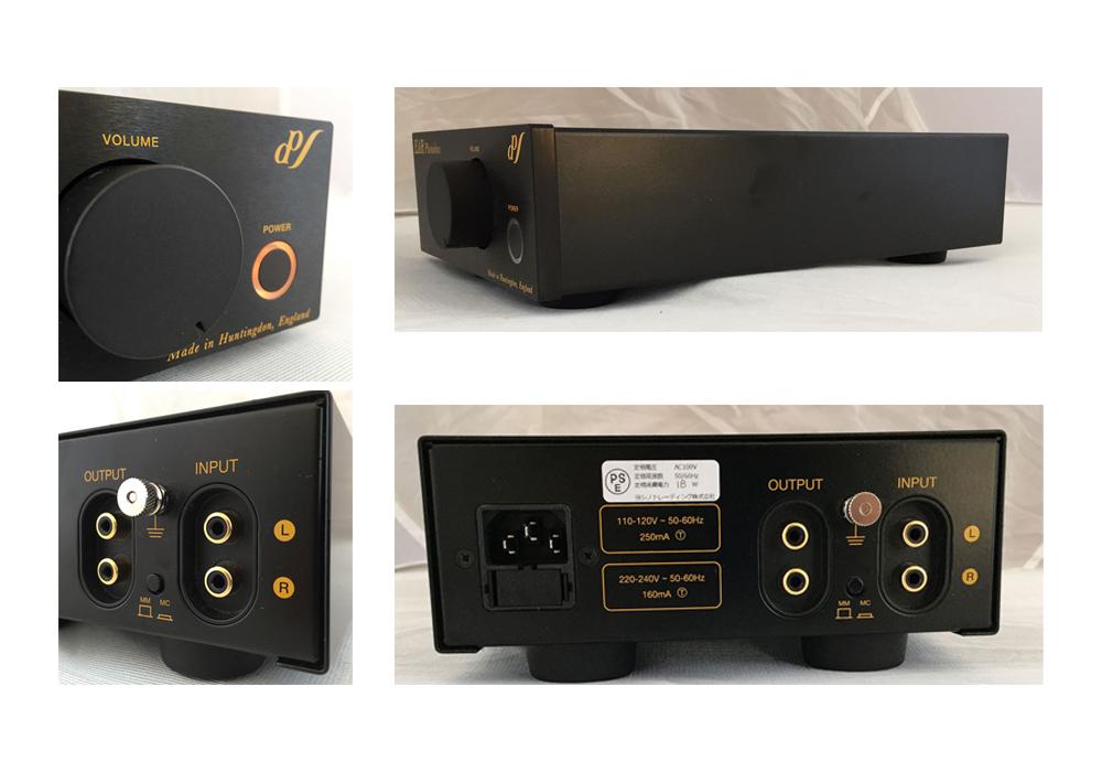EAR - Phonobox MM/MC Black/40Ω仕様(MM/MC対応・管球式フォノイコライザーアンプ)《JP》【在庫有り即納】