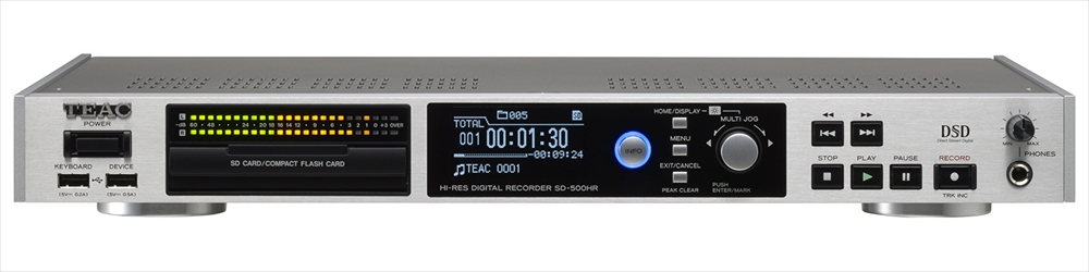 TEAC - SD-500HR(ハイレゾ・マスターレコーダー)《JP》【在庫有り即納】