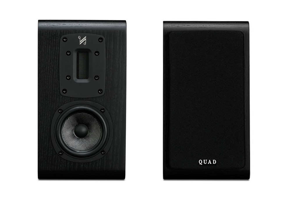 QUAD - S-2/ブラック(ペア)《JP》【在庫限り・メーカー在庫有り即納】