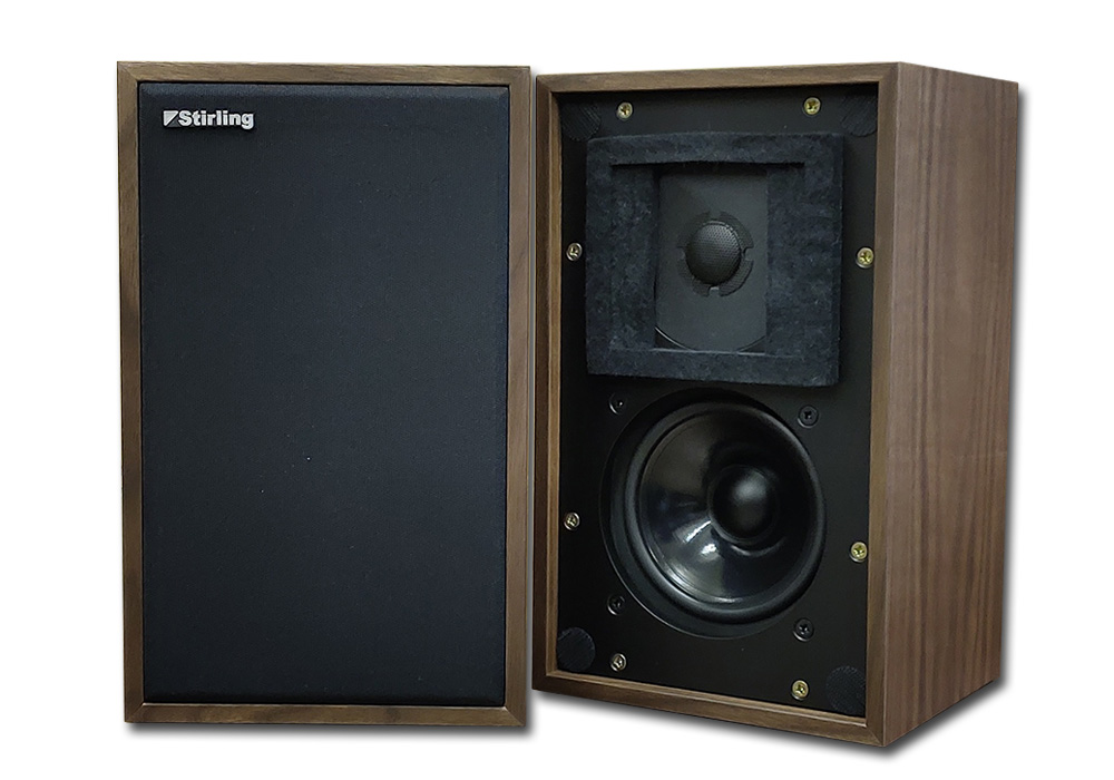 Stirling-Broadcast - LS3/5a-V2/ウォールナット(ペア)(Scanspeak製旧ツィーター仕様・新品5ペア限定)《JP》【在庫限り・在庫有り即納】