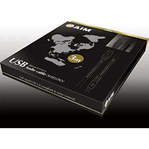 AIM - PAVA-UA3R010/1.0m(USB2.0・A-B)《JP》【メーカー取寄商品・納期を確認後、ご連絡いたします】