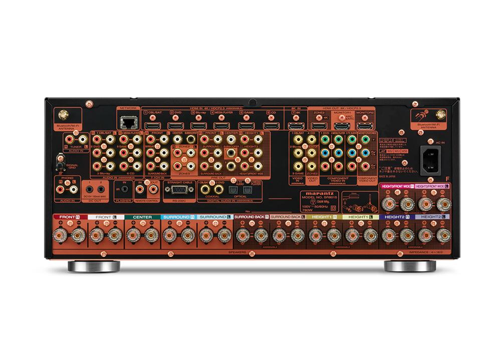 marantz - SR8015/FB(11.2ch・AVアンプ)《JP》【在庫有り即納】
