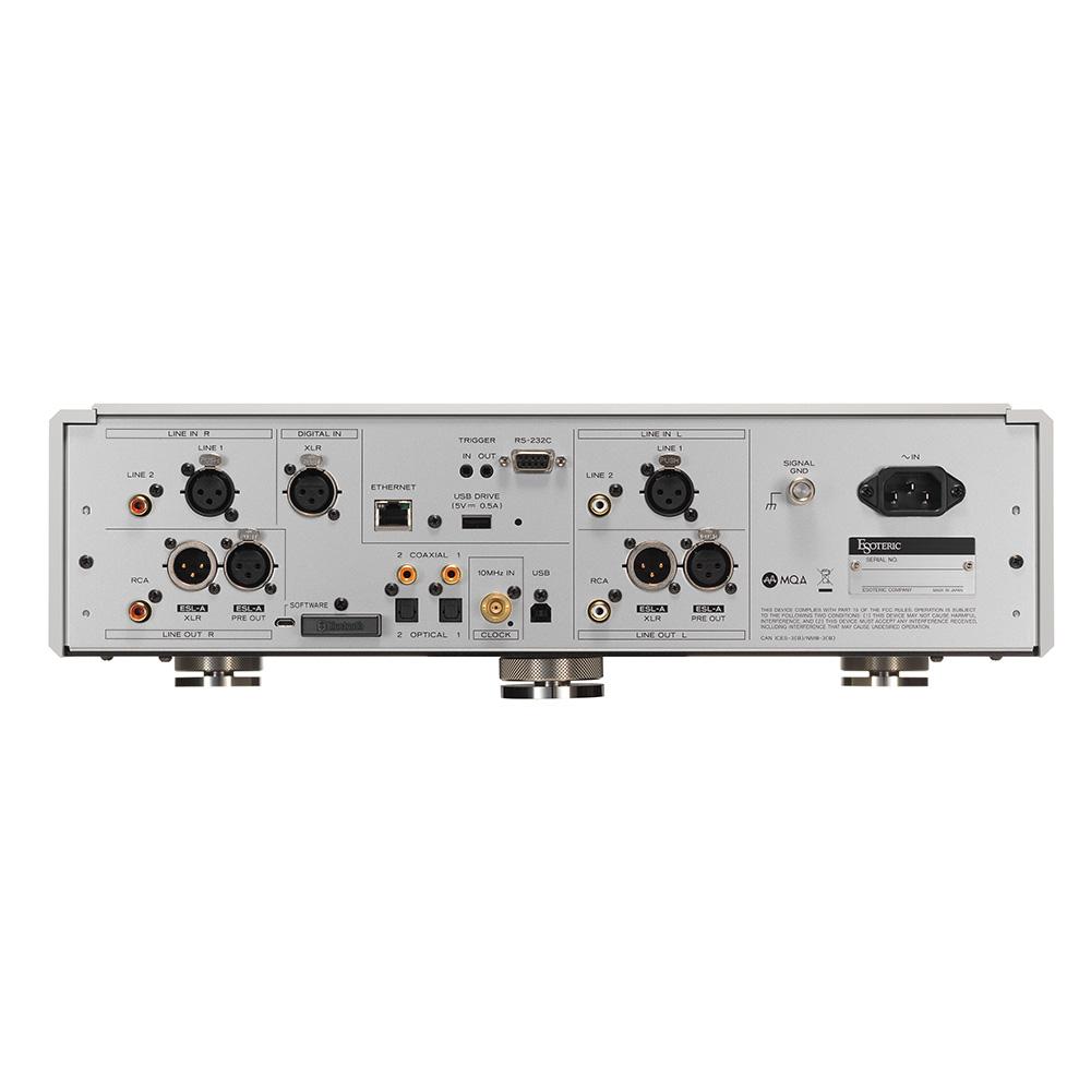 ESOTERIC - N-05XD/シルバー(ネットワークDACプリアンプ)《JP》【在庫有り即納】
