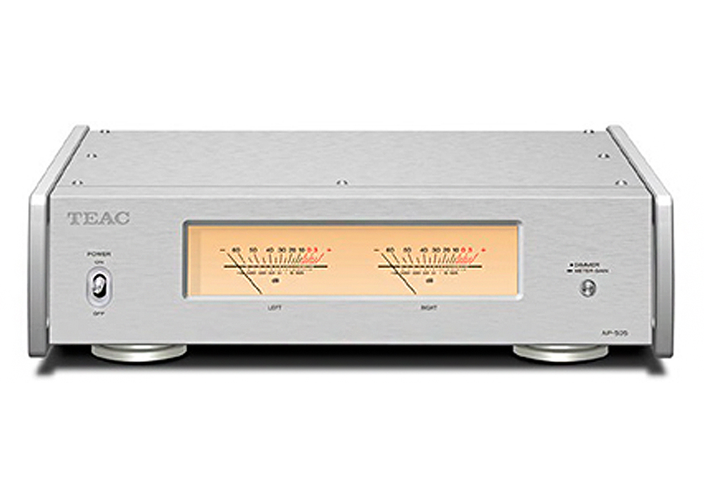 TEAC - AP-505/シルバー(パワーアンプ)《JP》【在庫有り即納】