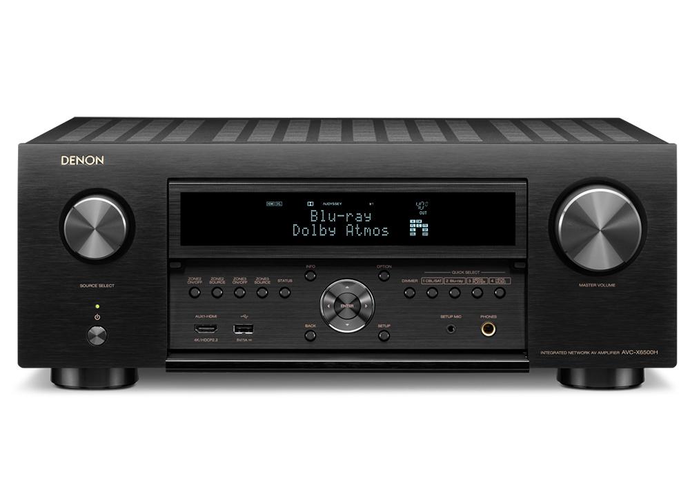 DENON - AVC-X6500H/ブラック(11.2ch AVサラウンドアンプ)【箱汚れ・開封品(メーカー保証有り)】《JP》【在庫有り即納】