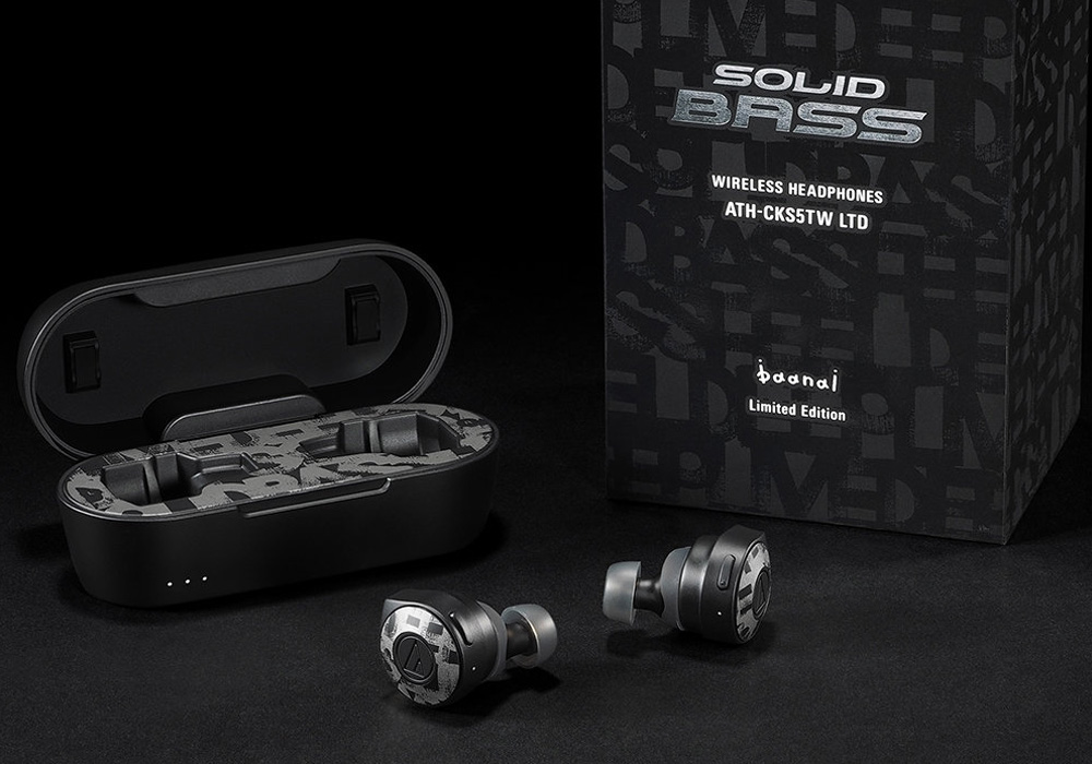 audio-technica - ATH-CKS5TW LTD(ワイヤレスイヤホン・baanaiコラボレーション限定モデル)《JP》【完売】