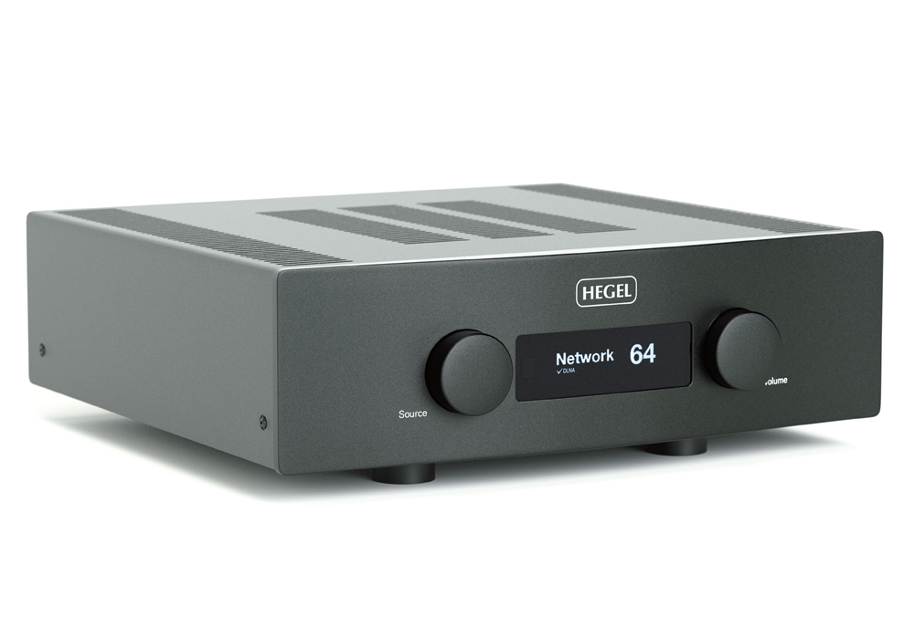 HEGEL - H390/ブラック(ネットワーク・USB/DAC内蔵インテグレーテッドアンプ)《JP》【メーカー取寄商品・納期を確認後、ご連絡いたします】