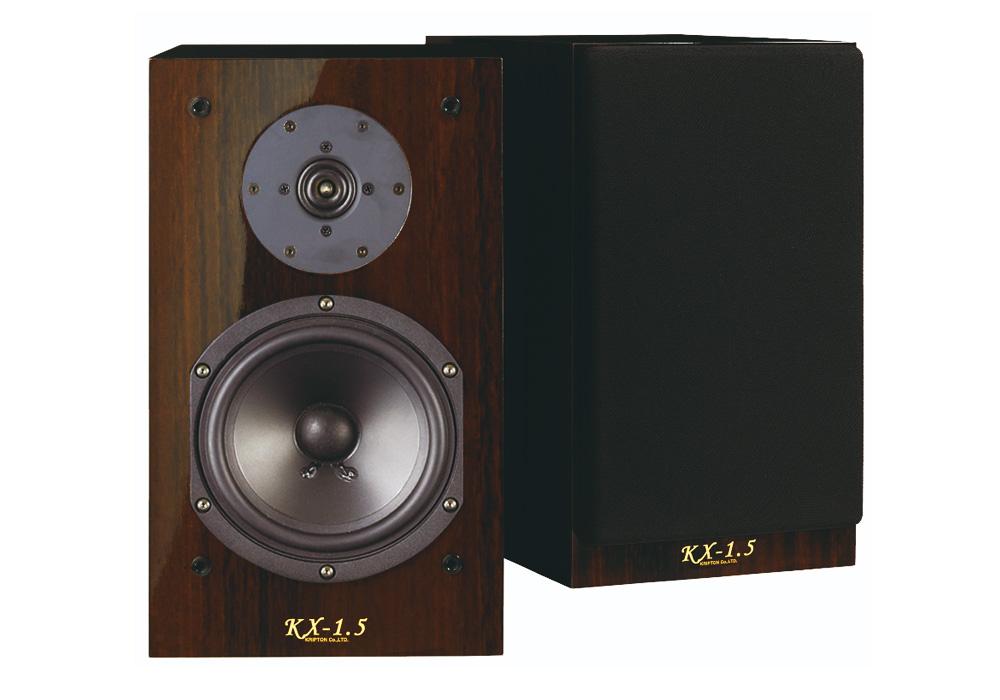 KRIPTON - KX-1.5(密閉型ブックシェルフスピーカー・ペア)《JP》【在庫有り即納】