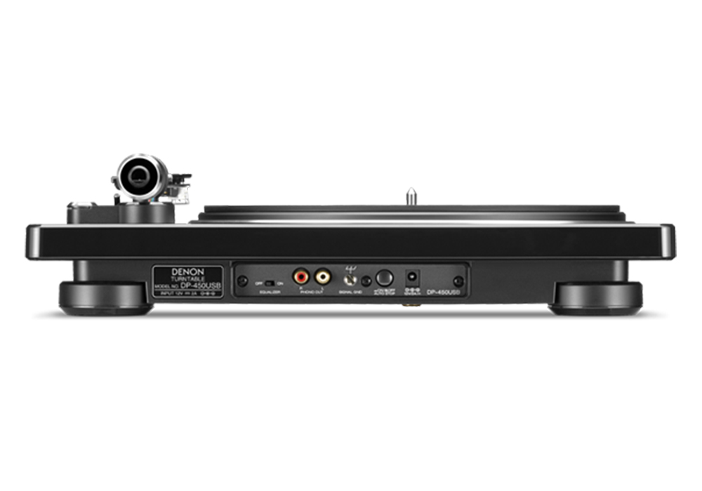 DENON - DP-450USB/ブラック(USBメモリー録音対応・ベルトドライブ方式・レコードプレーヤー)《JP》【在庫有り即納】